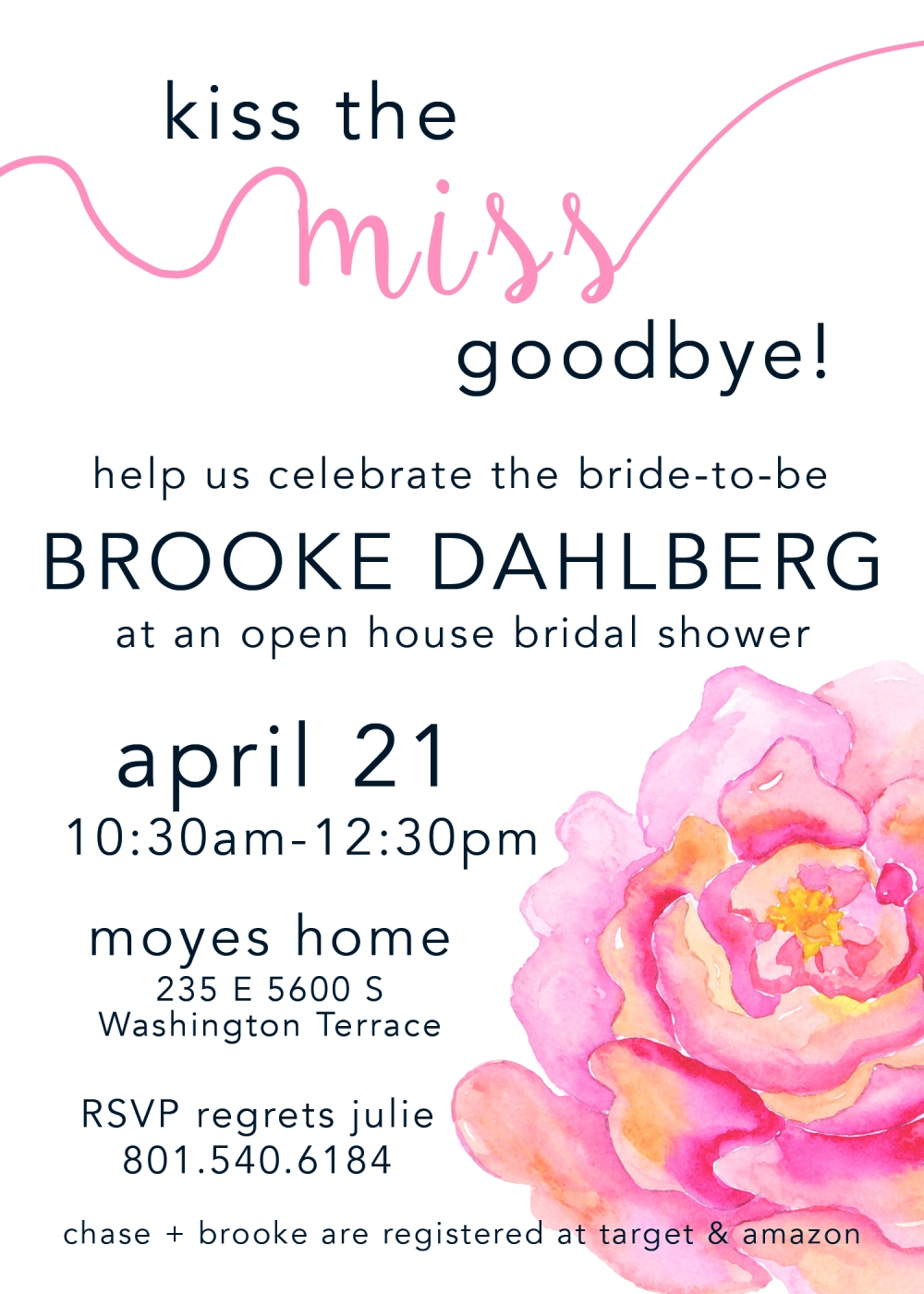 Brooke Dahlberg Bridal Shower Invite Design 2018